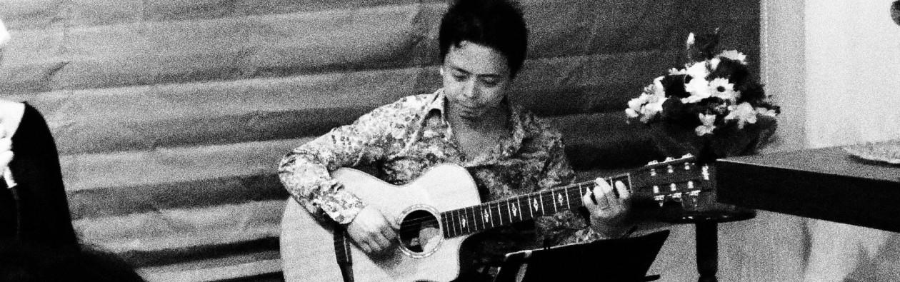 Guitarist Kazuhiro Kiso